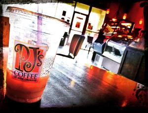 P.J.'s Coffee of New Orleans cafe