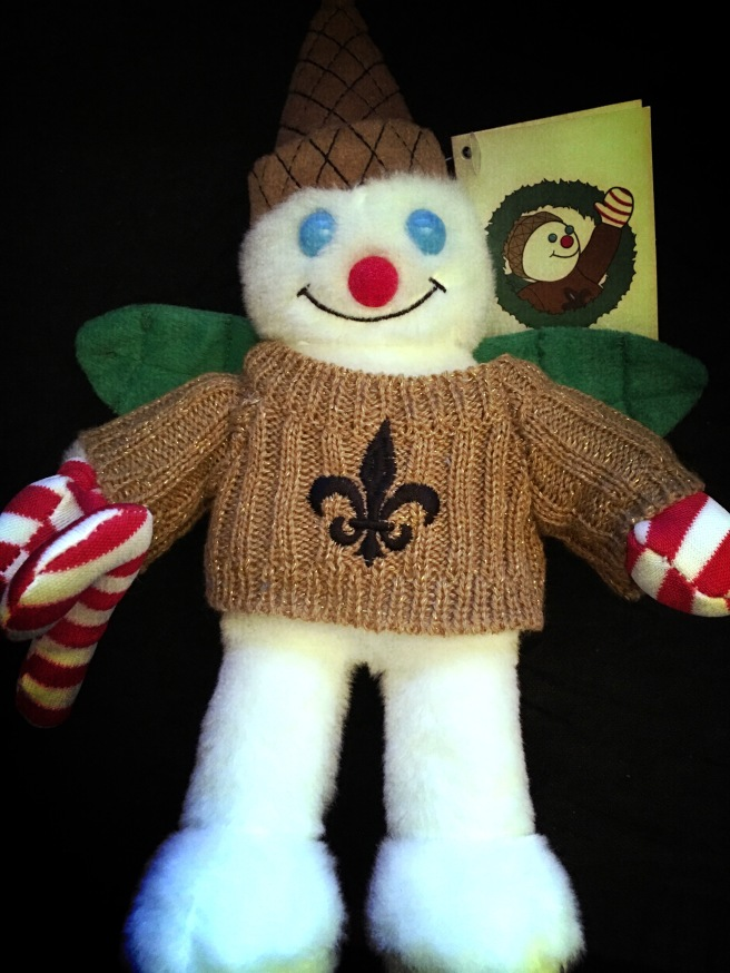 Mr Bingle joins the Who Dat Nation