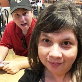 Chris & Carol - second selfie image