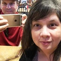 Chris & Carol - third selfie image
