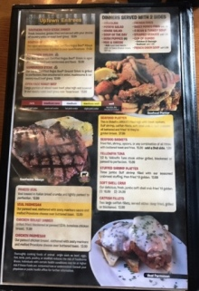 Southside Café menu image