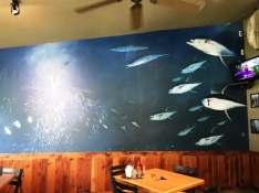 Southside Cafe mural image