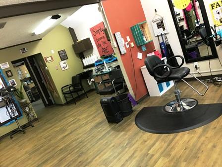 Julia's Hair Studio interior