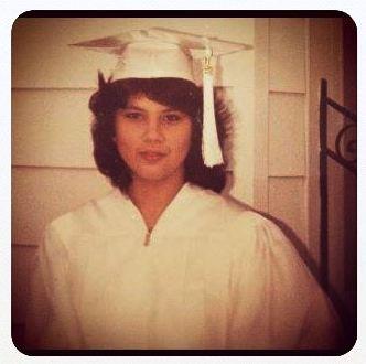 Me, Graduation Day 1982