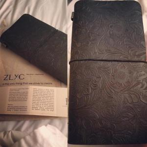 leather-bound journal image